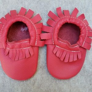 Other - Red Moccasins